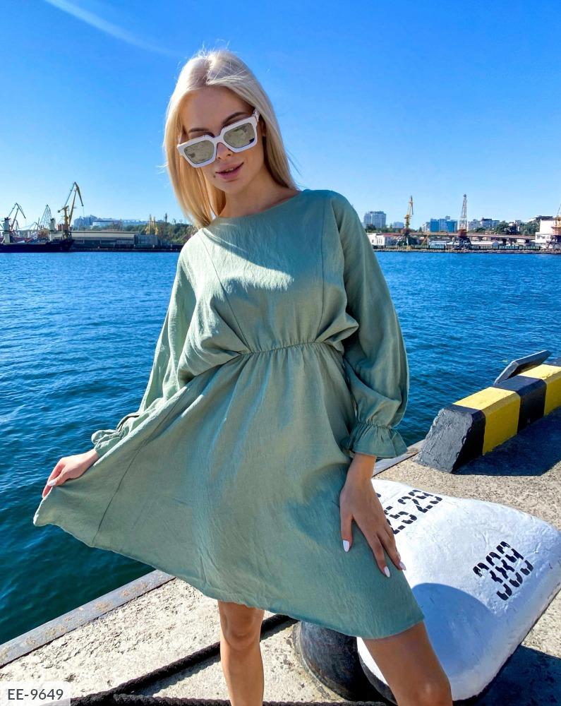 Льное платье недорого