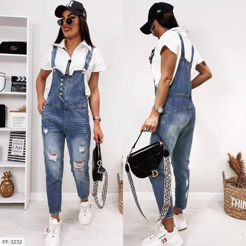 Комбинезоны джинсовые